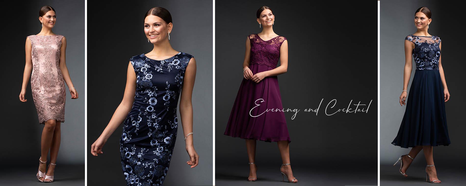 Vier Elegante Cocktail und Abendkleider von Itsmydress