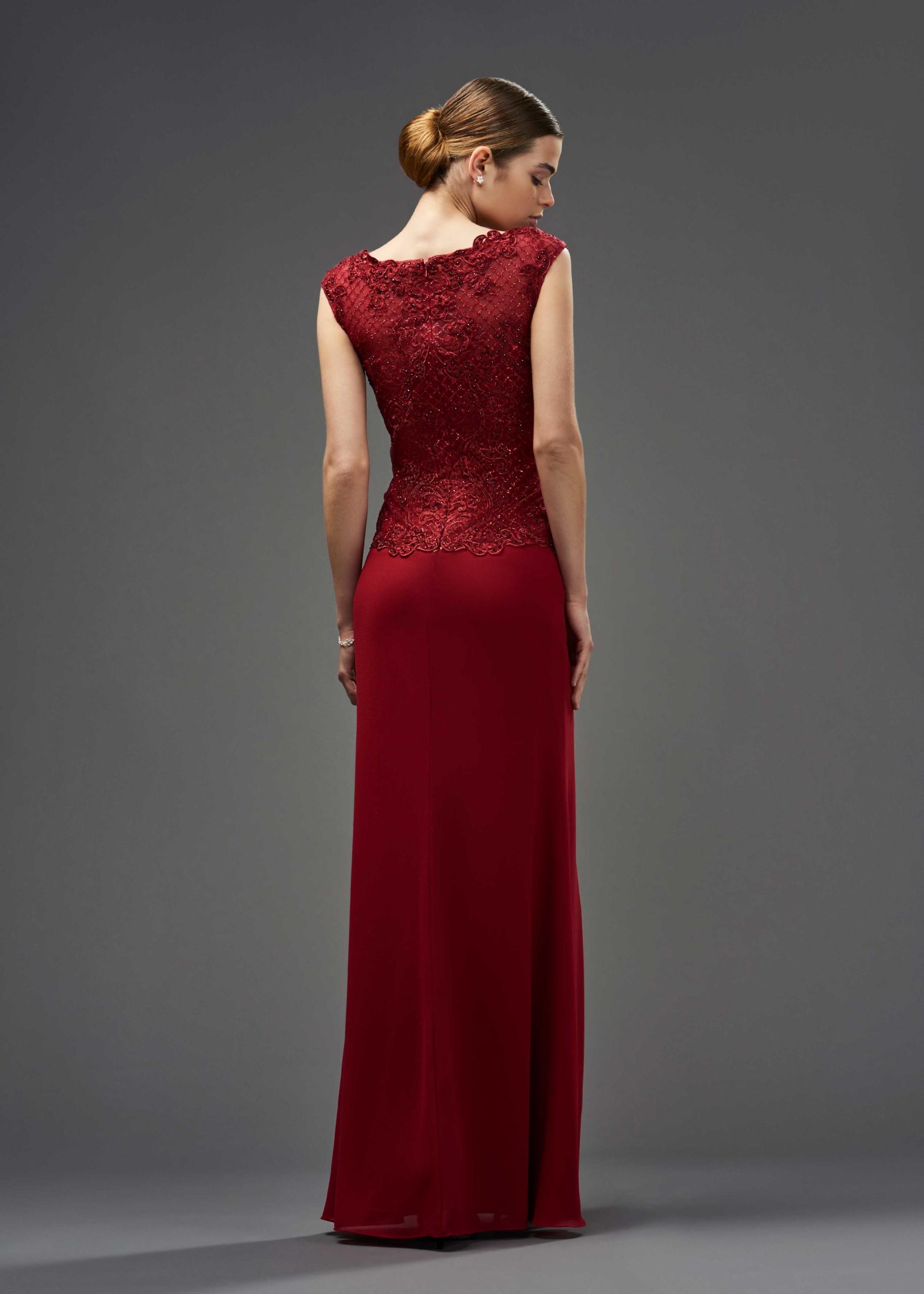 Kleid aus Chiffon und Spitze | Itsmydress