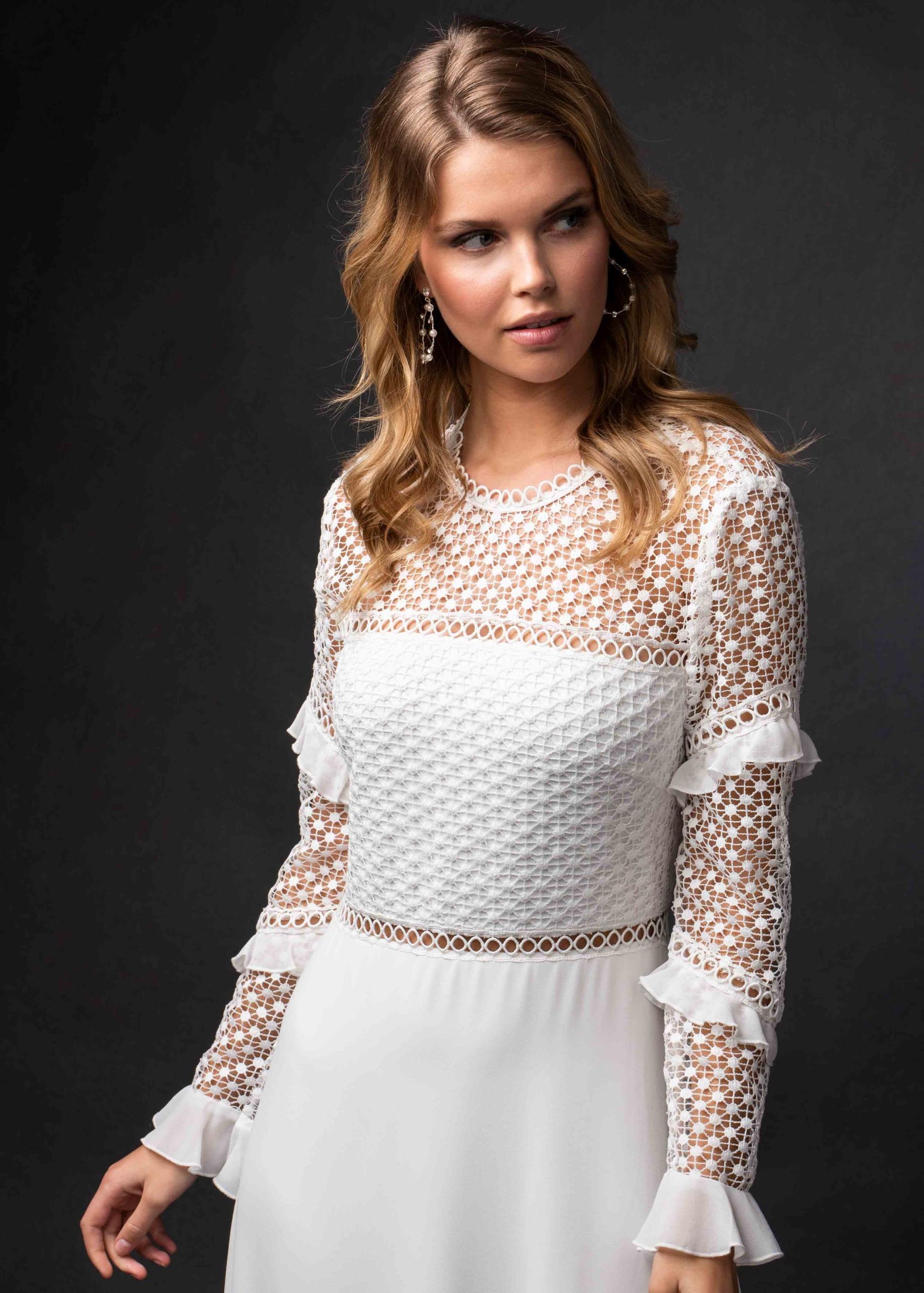 Kleid aus Chiffon/ Spitze | Itsmydress